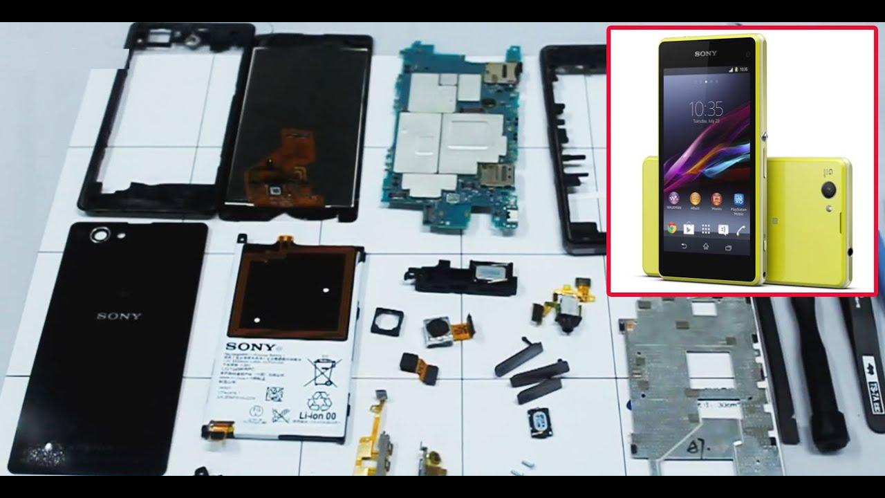 Как самому поменять экран сони z3 compact