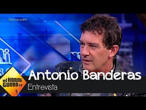 """Antonio Banderas: """"No he vistiado Altamira por no levantar la liebre"""" - El Hormiguero 3.0"""