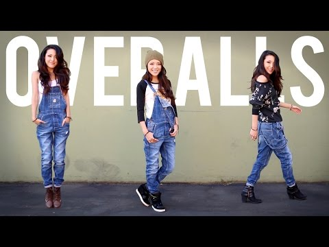 HOW TO WEAR OVERALLS (3-Ways)