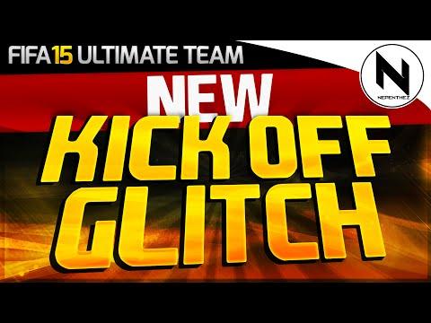 THE NEW KICK OFF GLITCH?! - FIFA 15 Ultimate Team