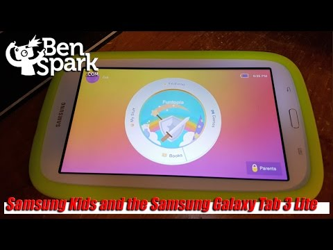 Review: Samsung Kids and the Samsung Galaxy Tab 3 Lite