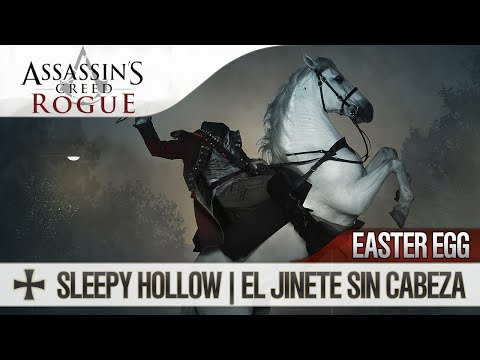 Assassin's Creed Rogue | Easter Egg | Sleepy Hollow Horseman | El Jinete Sin Cabeza | Secreto