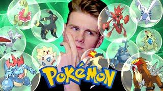 2ND GENERATION POKEMON! (Pokemon Challenge)