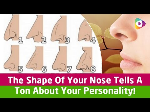 The Shape Of Your Nose Tells A Ton About Your Personality! - Tubeston