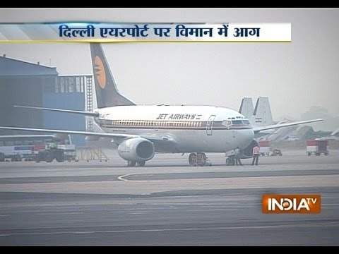 Jet Flight Aborted After Fire Alarm At Delhi Airport - India TV
