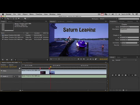 Using Premiere Pro CC & Encore CS6 for Bluray, DVD, and Interactive Video for iPad,ATV, and Mobile