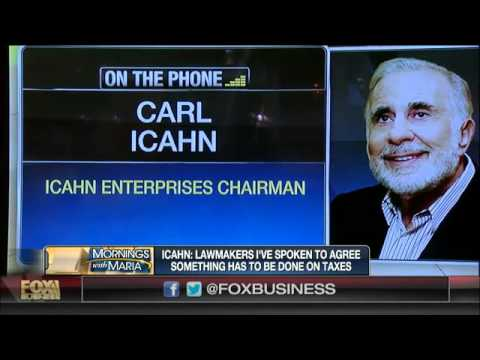 Carl Icahn on corporate tax reform, AIG breakup