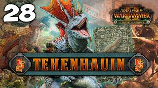 RISE ABOVE THE HORRORS! Total War: Warhammer 2 - Lizardmen Campaign - Tehenhauin #28