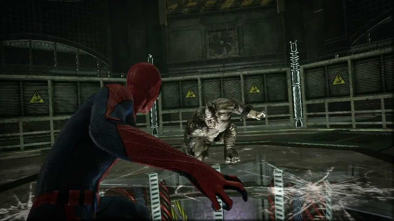 Official video the amazing spider man spider man vs rhino