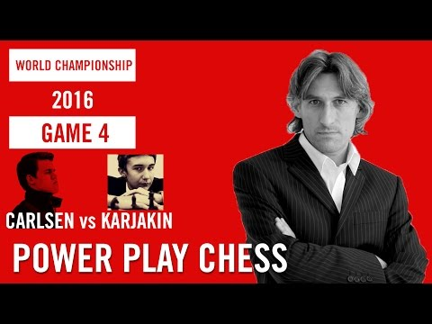 World Chess Championship 2016 Carlsen v Karjakin Game 4
