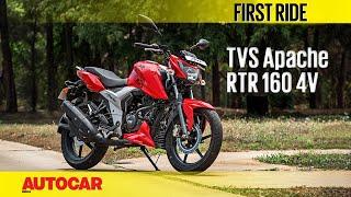 TVS Apache RTR 160 4V   First Ride   Autocar India