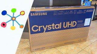 "????????SAMSUNG 43"" Class TU7000 Crystal UHD 4K Smart TV"
