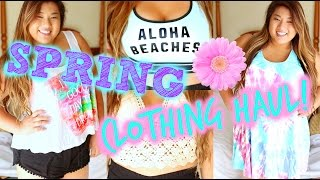 HUGE SPRING HAUL | Victoria's Secret, Pacsun, Tobi + More!