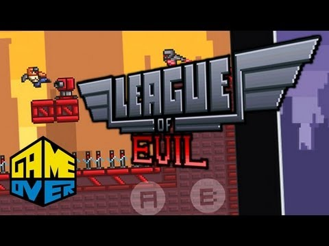League of Evil - Mobile - Game over