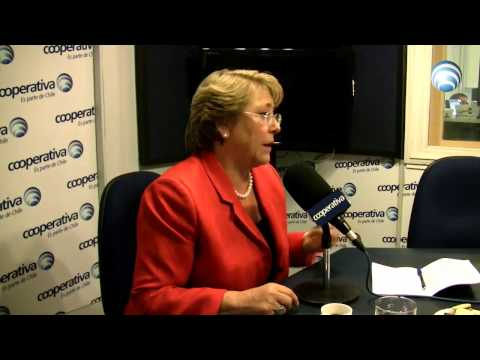 Entrevista a Michelle Bachelet