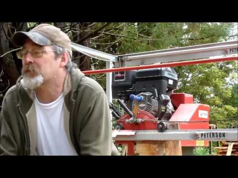 Fuel Consumption of the Junior Peterson (JP) Portable Sawmill