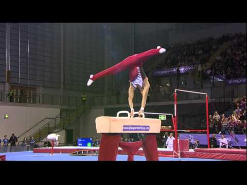Yusuke Saito (JPN) Pommel Horse