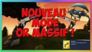 TOP 1! SUR LE NOUVEAU MODE OR MASSIF DE (FORTNITE,GAMEPLEY)