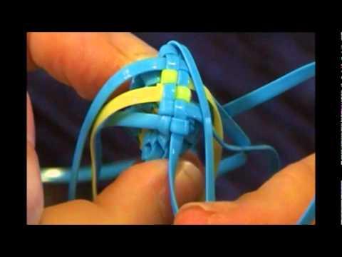 plastic string keychains instructions
