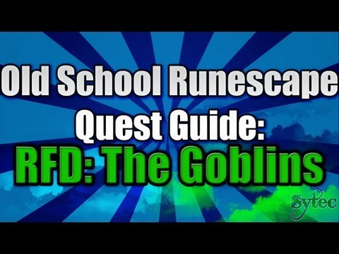 RS 2007: Quest: RFD: Goblins - Commentary-WalkThrough