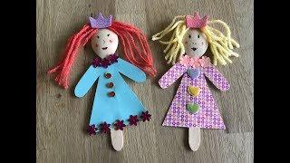 Куклы из ложки своими руками 7