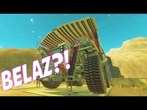 HUGE DUMPTRUCK! - Giant Machines 2017 Gameplay and Funny Moments