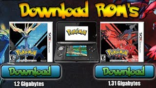 Game | Pokemon X and Y ROM 3DS Emulator Download November 2014 | Pokemon X and Y ROM 3DS Emulator Download November 2014