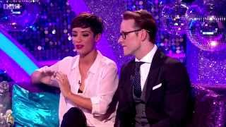 Frankie Bridge & Kevin Cilfton - Strictly Come Dancing - It Takes Two -  17th october 2014