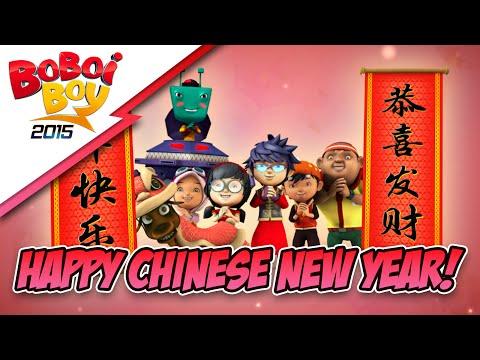 BoBoiBoy: Happy Chinese New Year 2015