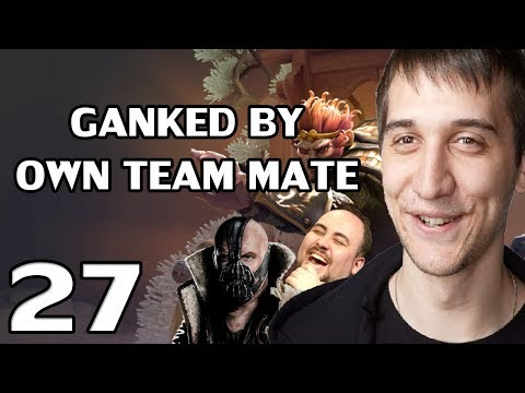 Arteezy - Best Moments #27 - GANKED BY TEAM MATES ft GRIEFING BANE