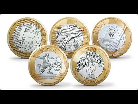 Veja o valor real das moedas das olimpiadas Rio 2016