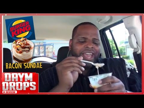Burger King's Bacon Sundae Review