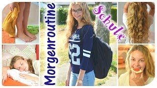Morgenroutine für die Schule | MORNING ROUTINE for SCHOOL mit LaurenCocoXO