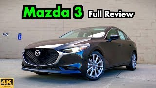 2019 Mazda 3 Sedan: FULL REVIEW + DRIVE | Blurring the Line Between Mainstream & Luxury!