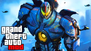"""""""GIANT ROBOTS IN GTA"""" - GTA Mods & Spawn Mod Fun! (GTA IV Modding)"""