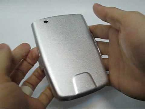 PDair Aluminum Metal Case for HP iPAQ h2200 Series (Silver)