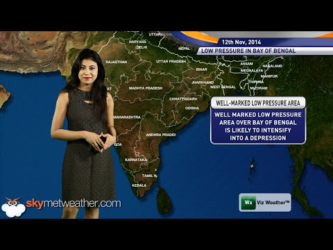12/11/14 - Skymet Weather Report for India1
