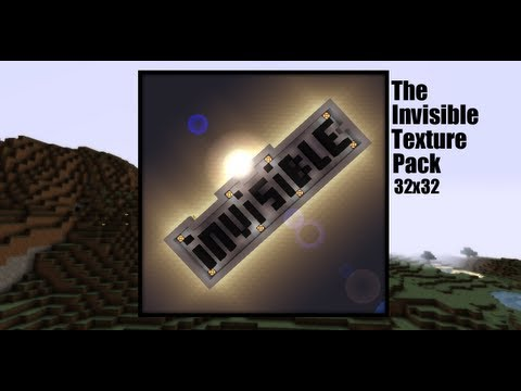 Minecraft 1.7.10: Texture/Resource Pack: TheInvisibleTexturePack 32x32 (Download