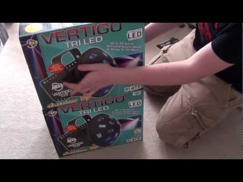 ADJ Vertigo TriLED Unboxing & Review