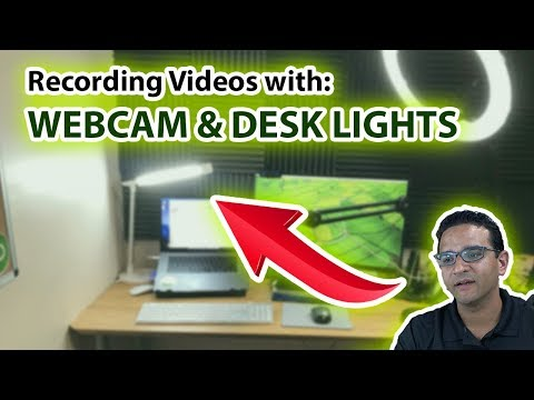 Webcam and Lightning Tips for Recording Videos on your computer