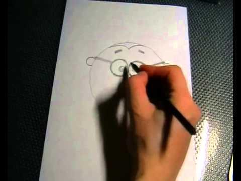 Видео как нарисовать Ежика из Смешариков
