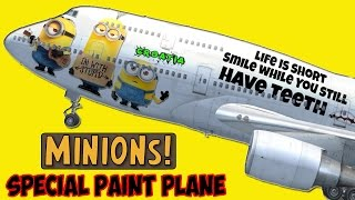 Minions Special Paint Plane - FSX HD