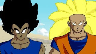 If Goku and Vegeta were BLACK part 3! (DBZ Parody)