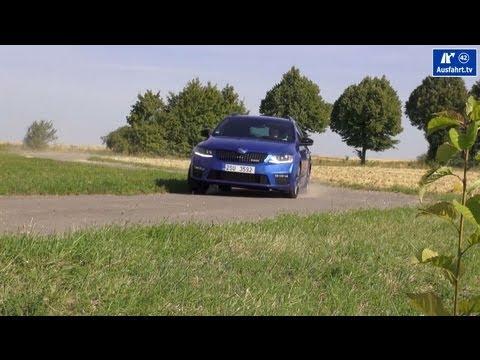 2014 Skoda Octavia III VRS Review Testdrive Test