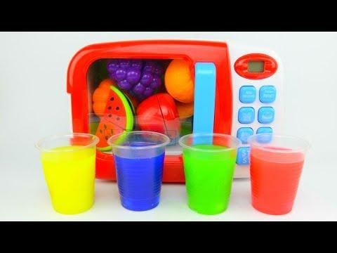 Сюрпризы для детей в Напитках из фруктов Волшебная микроволновка