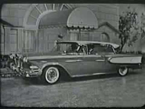 1957 Edsel TV - Commercial