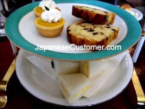 Japanese Customer Lifestyle #4 High Tea
