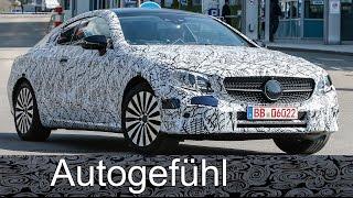 All-new Mercedes E-Class Coupé spotted E-Klasse spy shots camo car Erlkönig neu