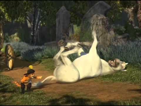 Shrek 2 Burro Gato Burlandose Youtube