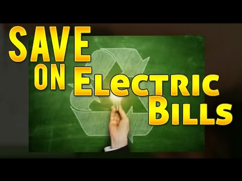 Energy Conservation Techniques, Tips, Ideas to Save on Electric